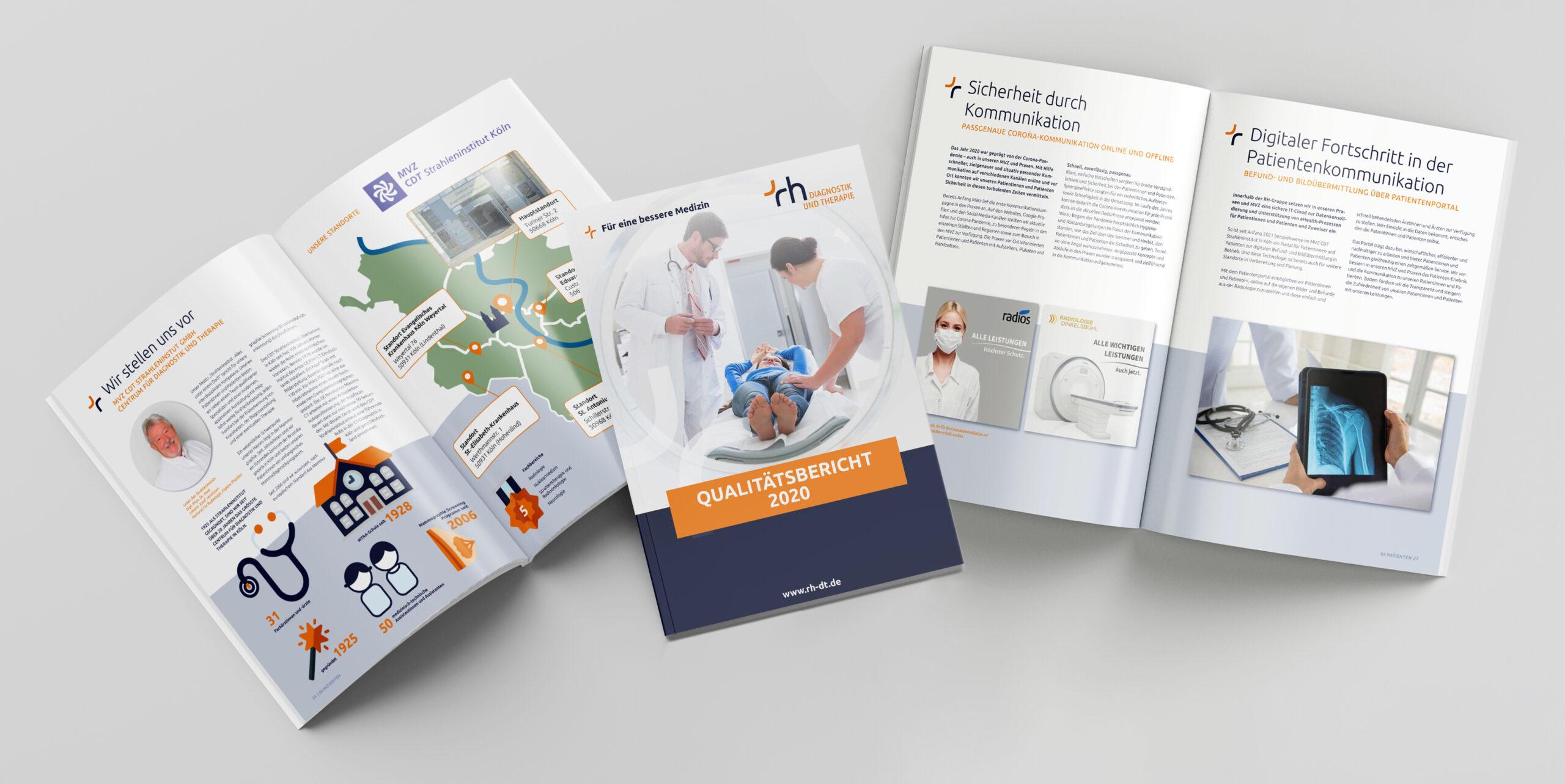RH Diagnostik & Therapie veröffentlicht Qualitätsreport